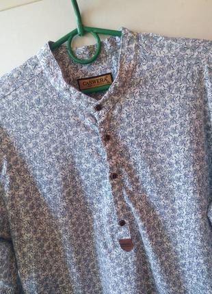 Красивая мужская рубашка от «caswera fashion»,турция
