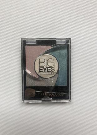 Тени для глаз maybelline new york. big eyes by eye studio