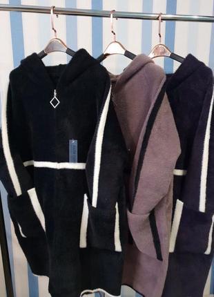 Пальто из альпаки высшего качества