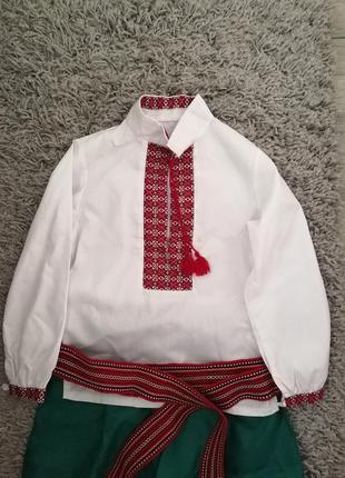 Вышиванка,украинский костюм для мальчика