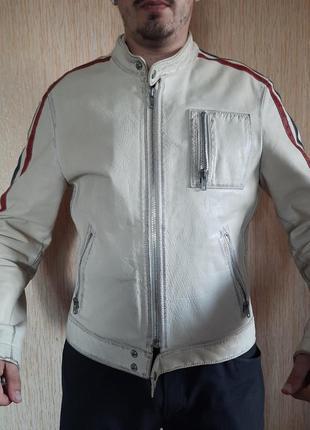 Мужская кожаная куртка авто мото gipsy германия