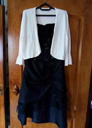 Нарядное платье+ болеро