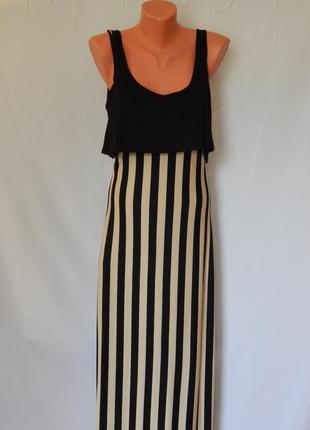 Длиное платье от jane norman (размер12)