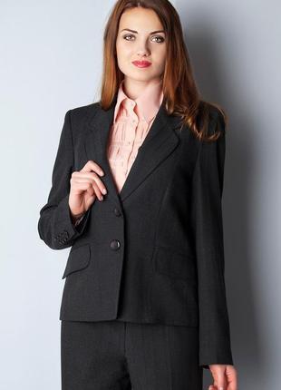 Теплый шерстяной брючный костюм reglan kst020