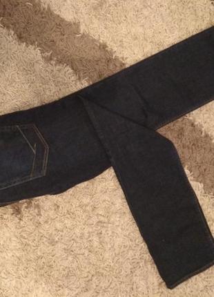 Мужские темно синие джинсы vans