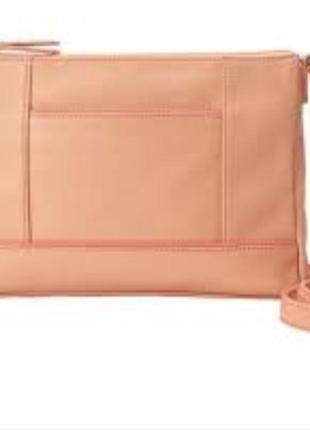 Шикарная кожаная сумочка tignanello..