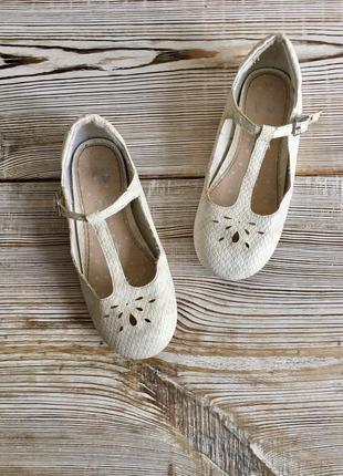 Белые туфли, нарядные next р.28