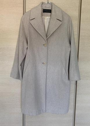 Пальто шерстяное демисезонное премиум класса syndicate размер xl