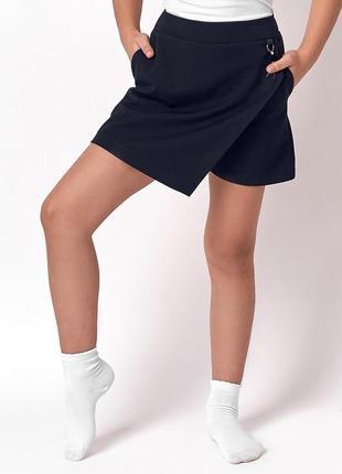 Юбка-шорты для девочки 7-11 лет.