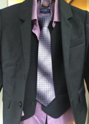 Костюм для школьника+ рубашка+ галстук