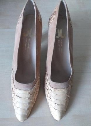 Jorge juan barcelona  кожаные туфли