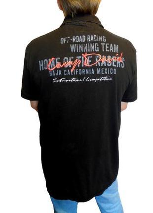 Оригинал футболка-поло camp david 1963, большой размер и рост