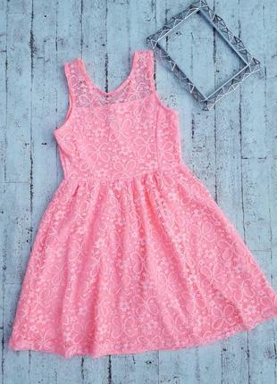 Милое ажурное платье