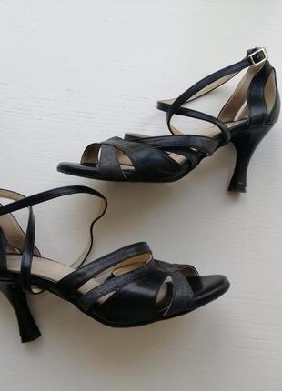 Туфли для бальних танцев, латина (кожа) 35 размер