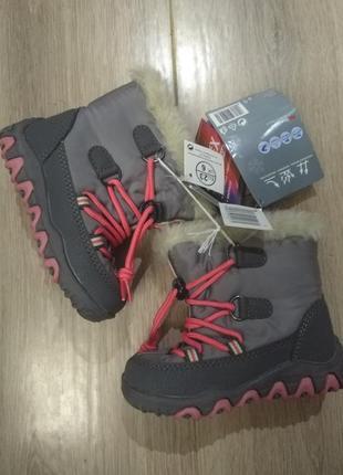 Сапоги - ботинки, дутики waterproof, германия 23