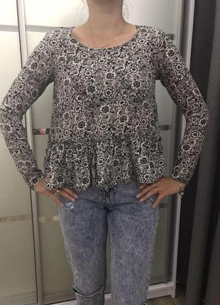 Трендова блузка 100% шовк