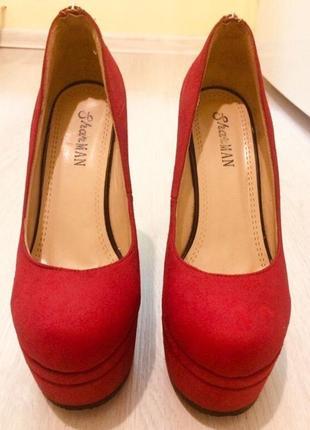 Обложенные туфли