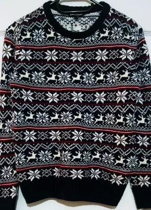 Свитер на рождество. рождественский свитер