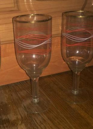 Остатки от набора бокалов
