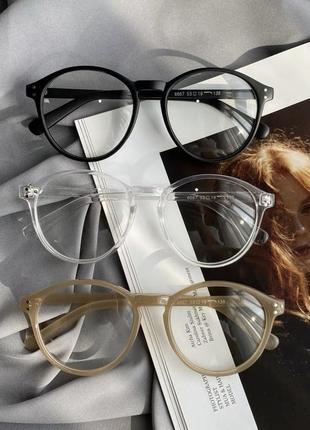 Имиджевые прозрачные очки