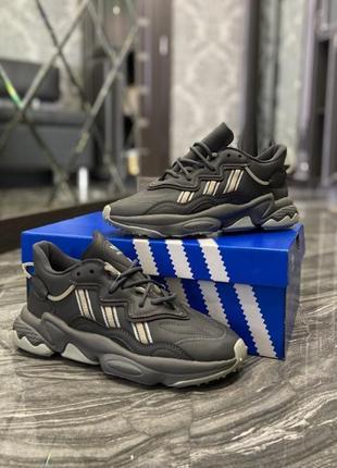 Кроссовки adidas ozweego triple grey