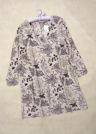 Платье туника h&m размер 20/50- 22/52