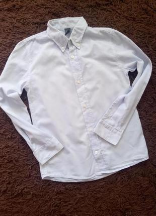 Zara kids, рубашка на мальчика 7-8лет