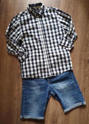 Стильная рубашка на мальчика 12-13лет