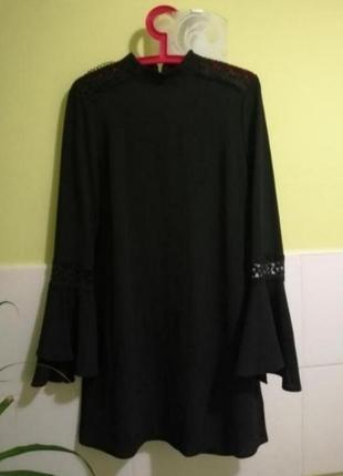 Платье с вставками из кружева primark