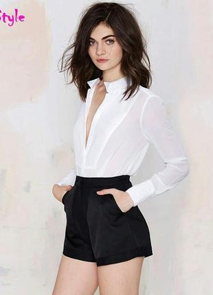 Классные модные короткие широкие шорты