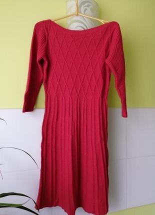 Вязаное платье в составе ангора monsoon