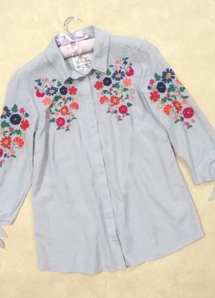 Блуза вышиванка falmer heritage размер 14/xl/42