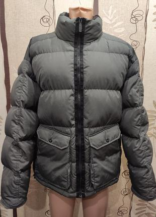 Scotch&soda мужской натуральный пуховик, зимняя куртка