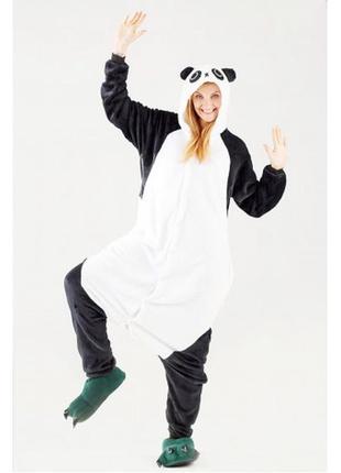 Кигуруми панда детский и взрослый. пижама - комбинезон