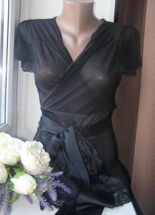 Стильный халат кружево 40-42 евро размер. германия