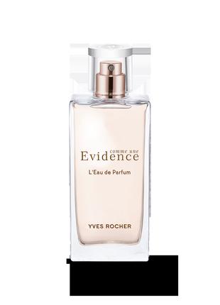 """Парфумована вода """"comme une evidence"""" від бренду івроше"""