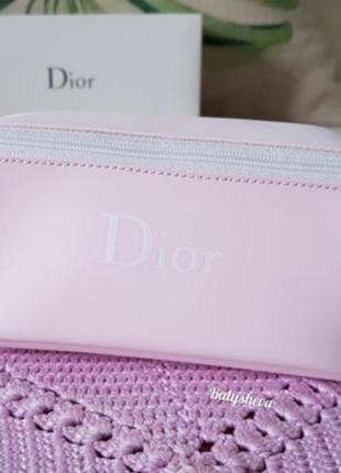 Dior косметичка пастельно-розовая новая оригинал☝️1 фото