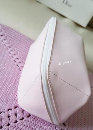 Dior косметичка пастельно-розовая новая оригинал☝️2 фото