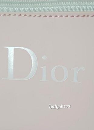 Dior косметичка пастельно-розовая новая оригинал☝️4 фото