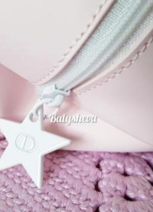 Dior косметичка пастельно-розовая новая оригинал☝️5 фото