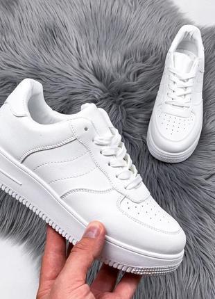 Кроссовки женские forsis белые