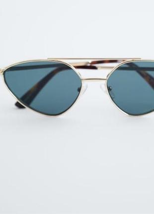 Новые стильные очки zara (новая кепка в подарок)