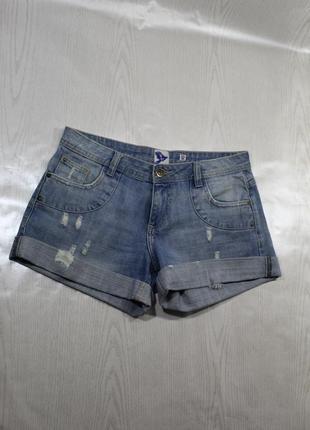 Трендовые джинсовые шорты бермуды короткие