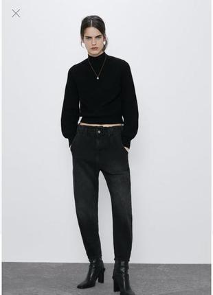 💝💝💝 zara uk англия / baggy jeans with pockets джинсы джинси