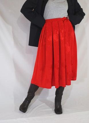 Восхитительная винтажная объемная юбка с защипами (ретро, винтаж)