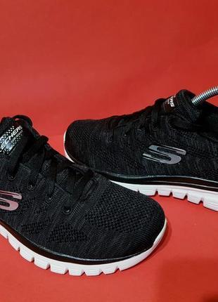 Skechers lite-weight memory foam 40р. 25.5см кроссовки для бега и тренировок