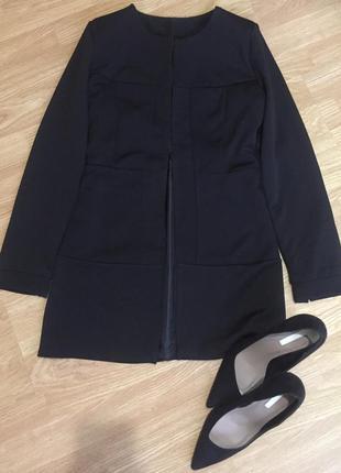 Стильный красивый чёрный кардиган, размер xs/s, турция