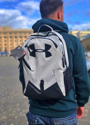 New 💣мужской рюкзак серый