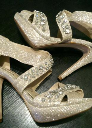 Opulence by next сандали босоножки туфли блестящие 25