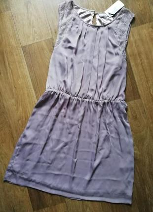 Шёлковое платье в бельевом г, плаття, сарафан, сукня